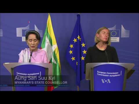 Aung San Suu Kyi Refuses UN Probe Into Alleged Myanmar War Crimes