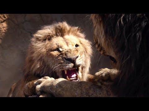 Смерть Муфасы.Шрам убивает Муфасу. Король Лев(2019)