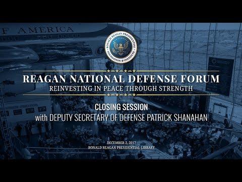 Closing Session — 2017 Reagan National Defense Forum