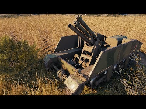 World of Tanks Loyd Gun Carriage