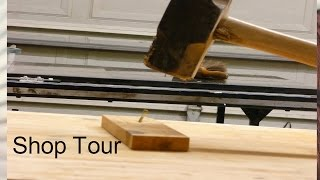 Woodworking shop layout and some of our tools