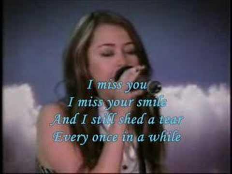 I Miss You (Official Karaoke/Instrumental) - Miley Cyrus
