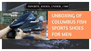 Unboxing of Columbus New Shoes…