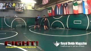 Professional Kickboxer Richard Richard Abraham Power Drill