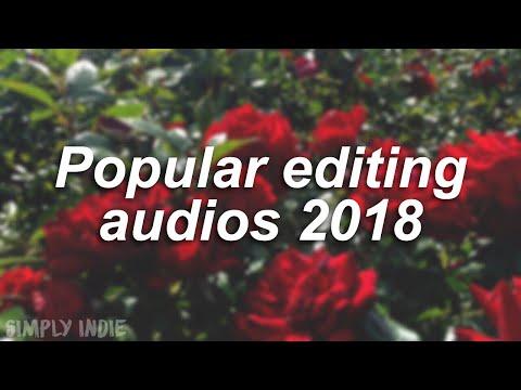 POPULAR EDITING AUDIOS 2018