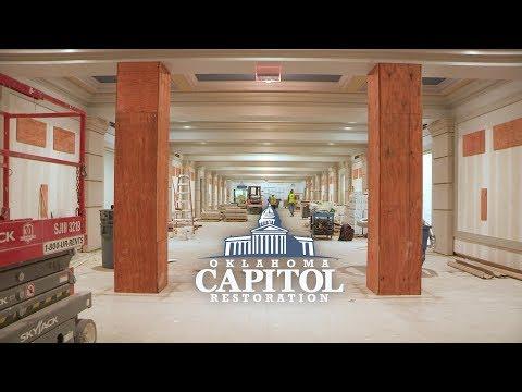 Oklahoma Capitol Restoration - Interior Update Dec. 2017