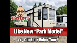 Used 2017 Retreat 391FDEN Destination Park Model Travel Trailer