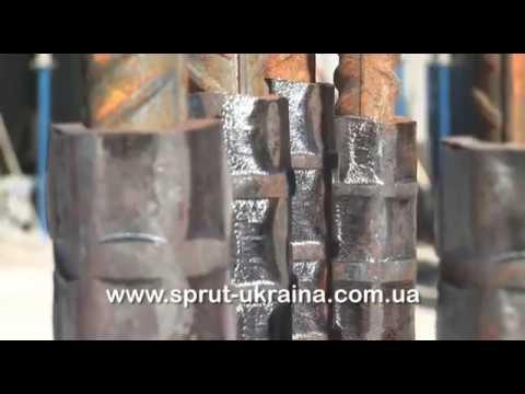 Соединение строительной арматуры с помощью муфт