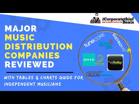 Major Music Distribution Companies Reviewed 2018 { Guide For Independent Artists}