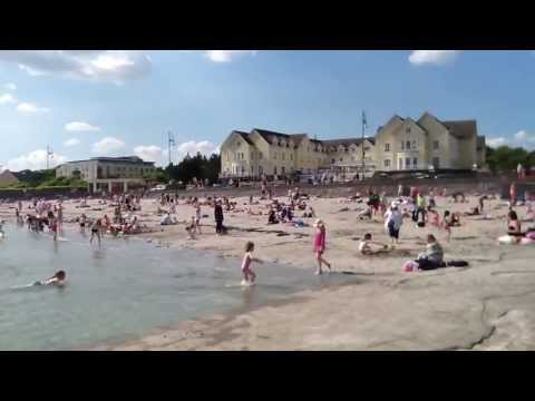 Family day at Salthill Beach - Galway Bay Hotel