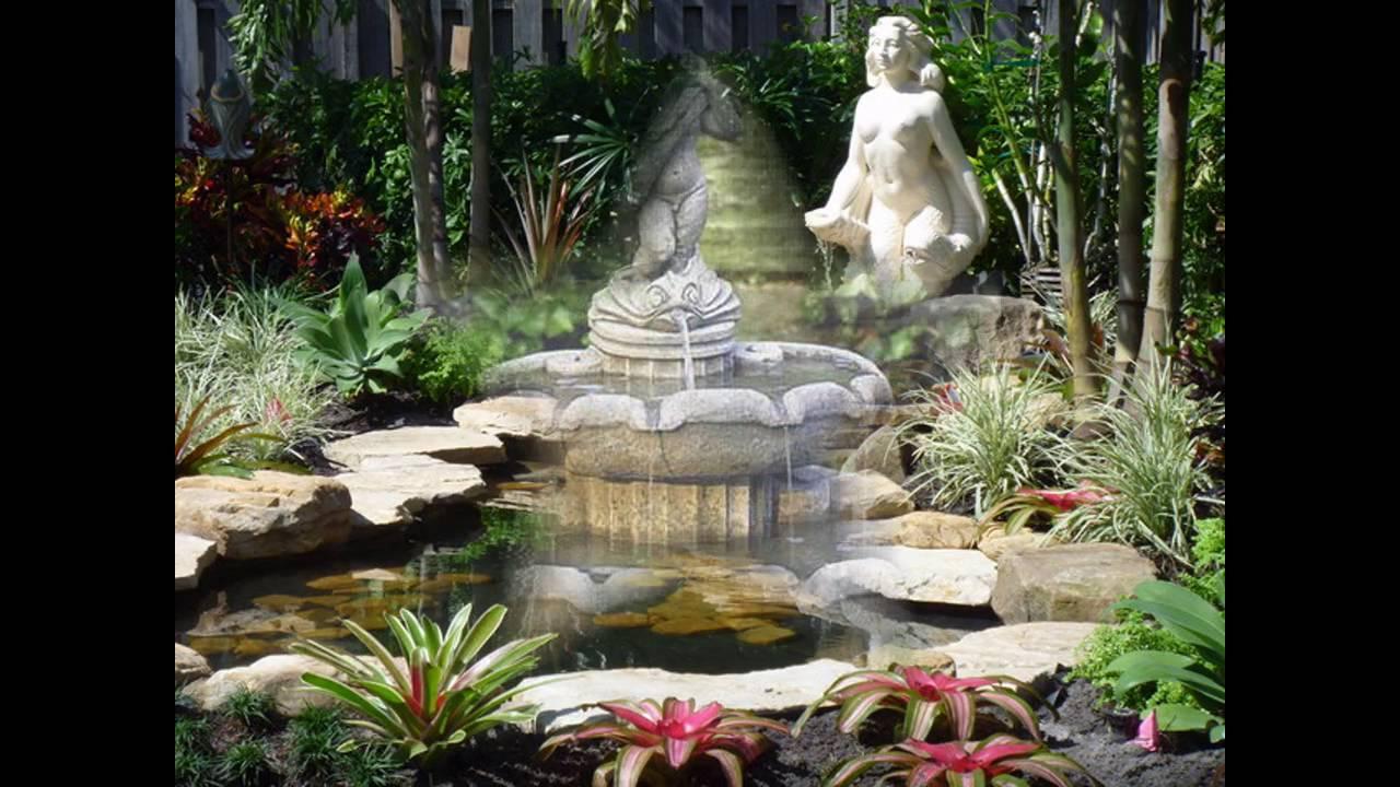 garden fountain ideas small