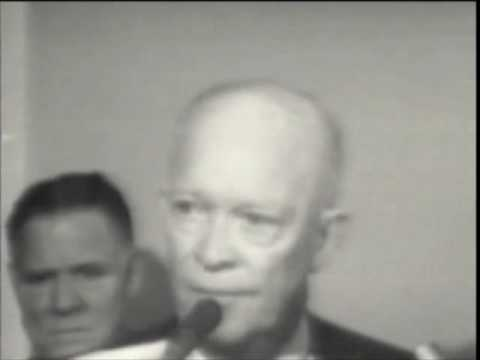 Eisenhower Speaks About Murder of JFK  (1963)