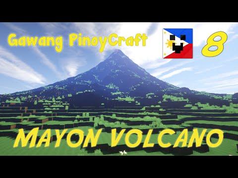 Gawang PinoyCraft #8 - Mayon Volcano