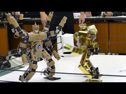 Ngakak !! Gulat Versi Robot