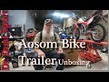 Aosom Bike Trailer Unboxing