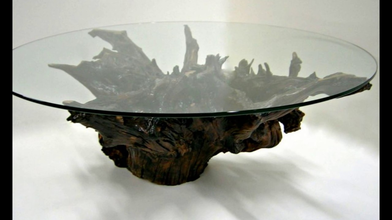 Round Glass Coffee Table   YouTube