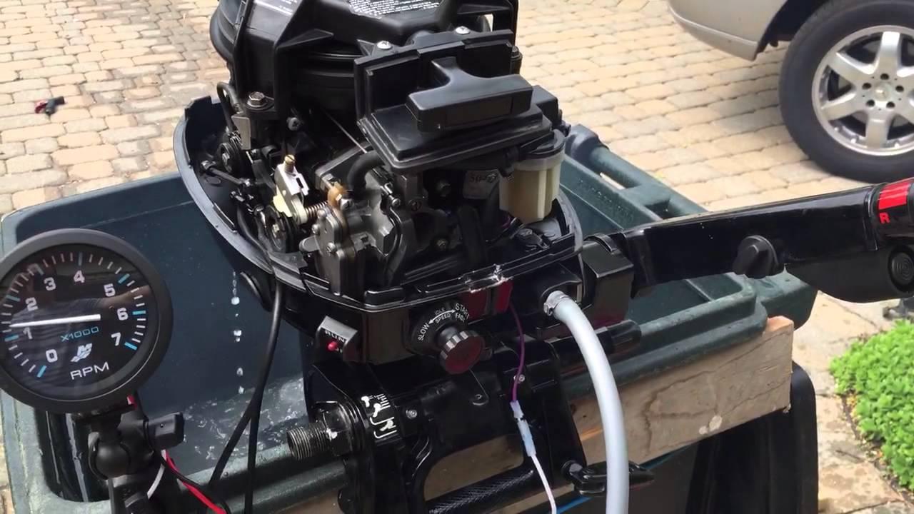 1999 Mercury 2Stroke 15HP (Post Fuel Line Fix)  YouTube