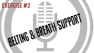 Belting & Breath Support [Exercise 2] | Free Voice Lessons with Cherish Tuttle
