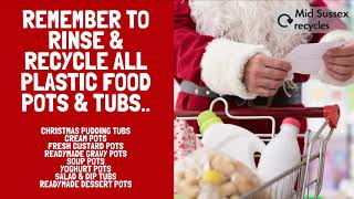 Whipping up a trifle or Christmas pud with brandy cream? All empty plastic food pots and tubs (in...