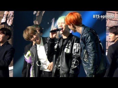 [Episode] BTS won 1st place at Music Bank with 'RUN'