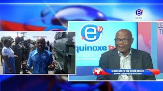 THE 6PM NEWS (DION NGUTE ARRIVES IN BUEA) TUESDAY, MAY 14th 2019- EQUINOXE TV