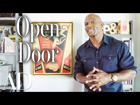 Inside Terry Crews' LA Man Cave | Celebrity Homes | Architectural Digest