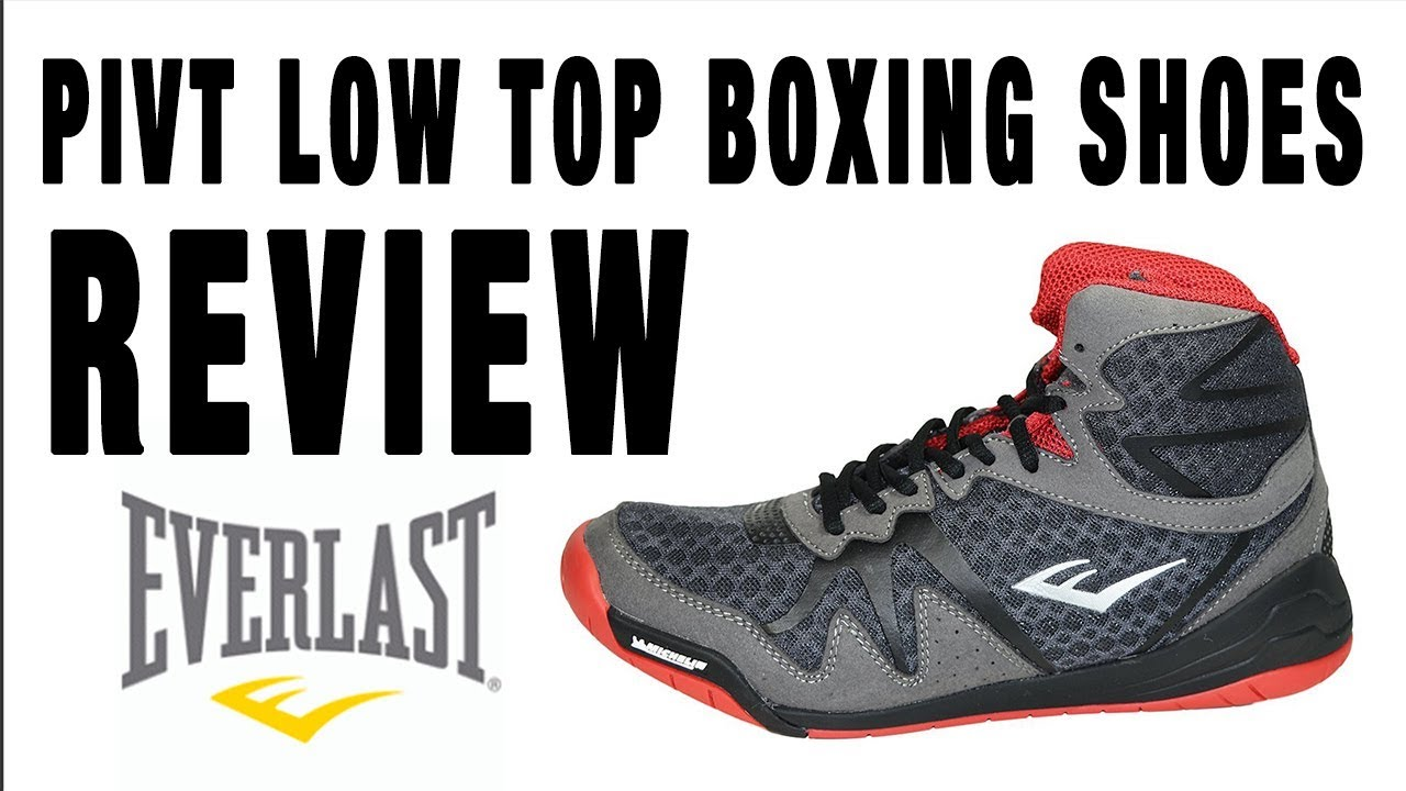 EVERLAST PIVT LOW TOP BOXING SHOE - YouTube