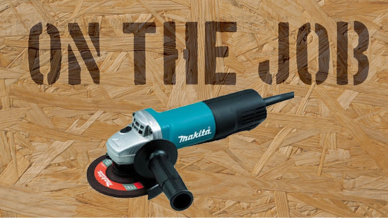 On The Job With The Makita 9557PB Cutting Cement Patio Pavers
