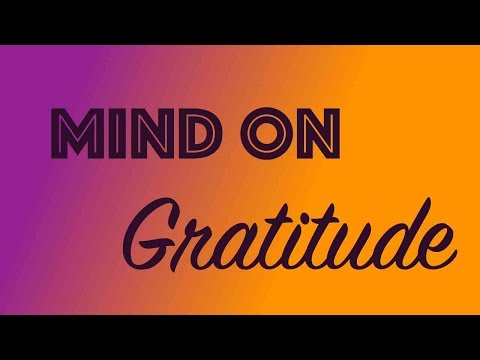 #MindOnGratitude Day 153