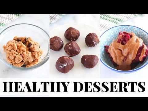 NO BAKE HEALTHY DESSERTS: vegan, low carb, paleo recipes