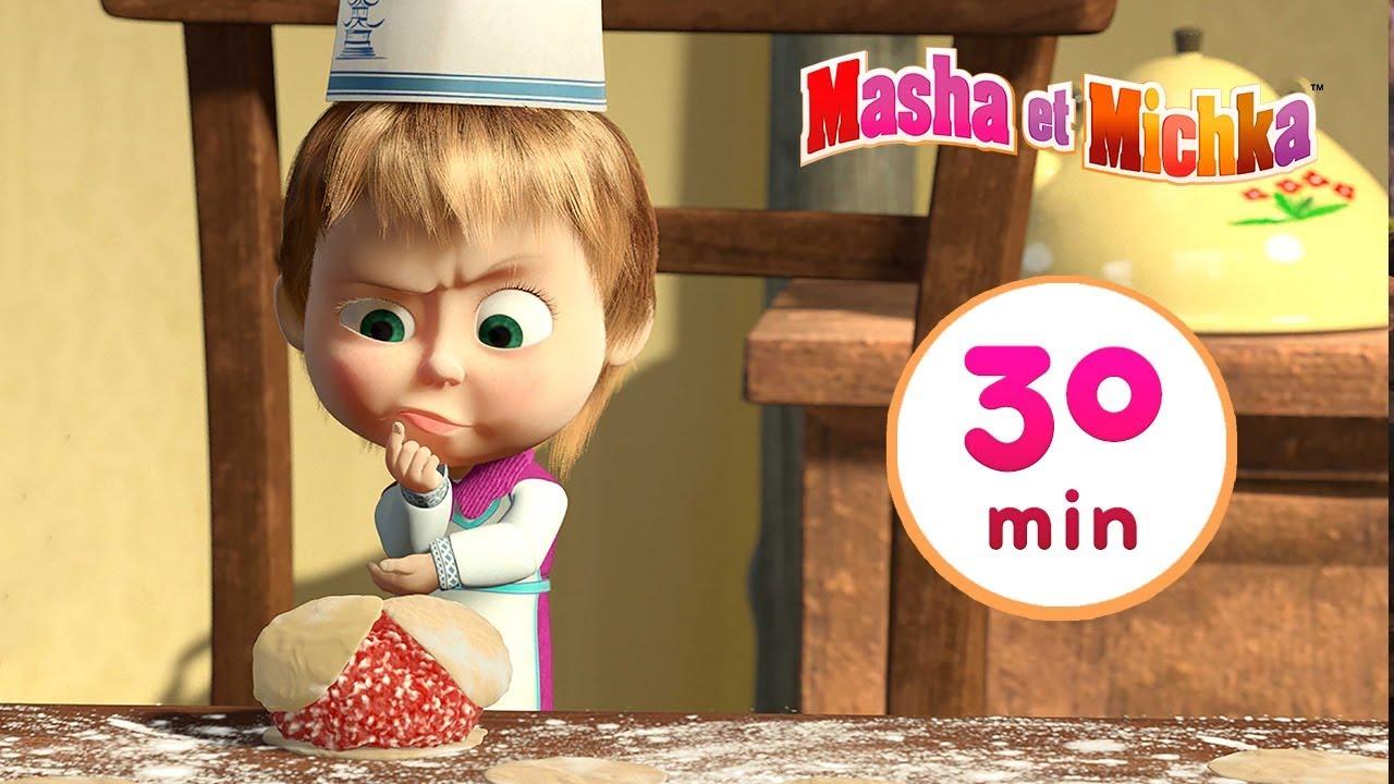 Download Masha et Michka ✨ Bon Appétit, Miam 🐼🐻Compilation 2 ⏱30 min