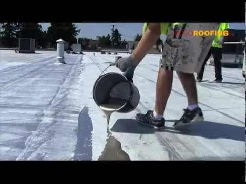 Cold Process Roofing System For Flat Roofs By Also Roofing