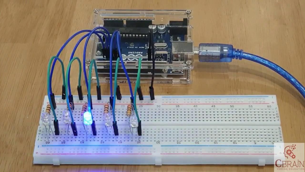 Diagram Arduino And Car Led