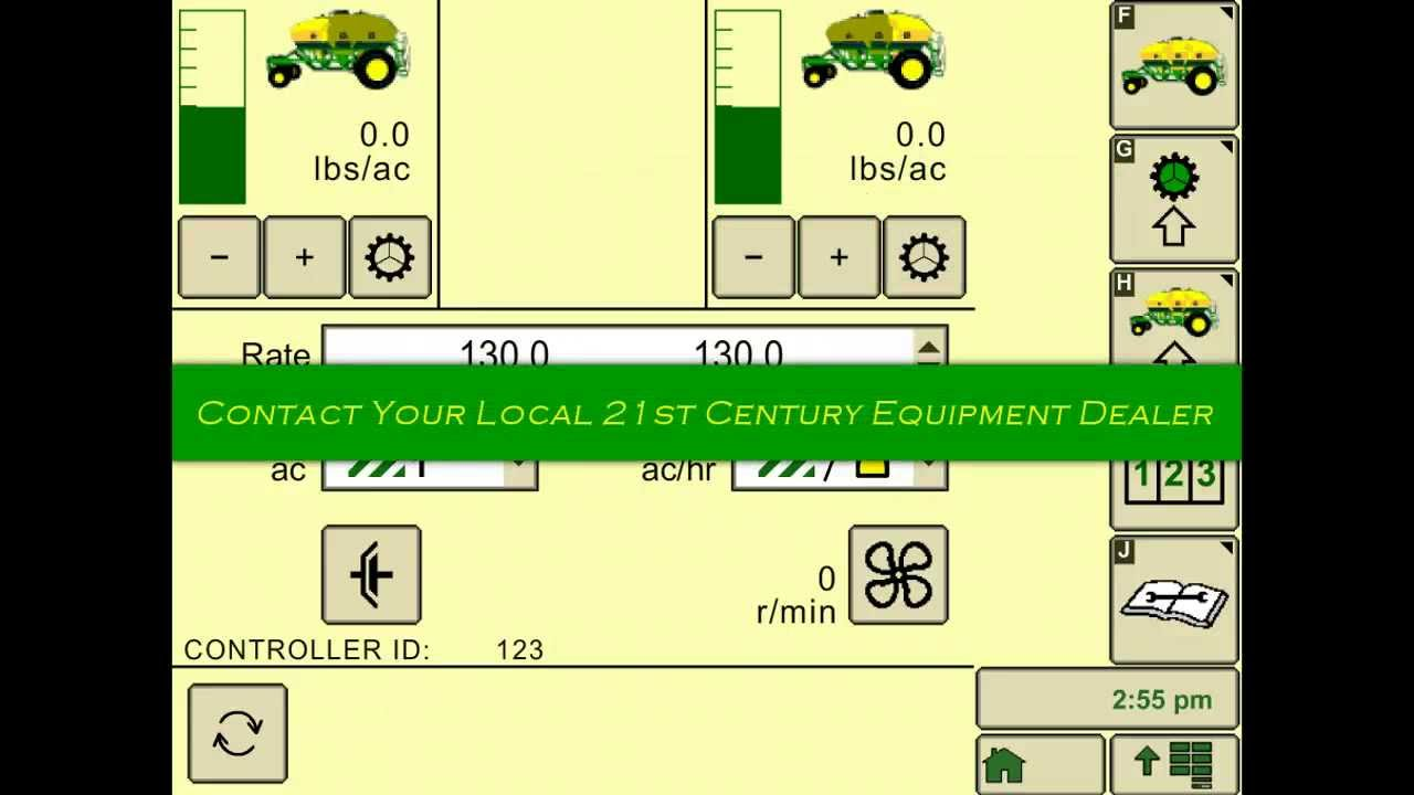 Configure A John Deere 1910 Commodity Air Cart Youtube 2630 Wiring Diagram