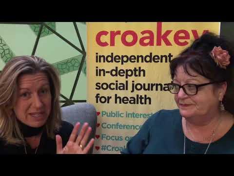 Aotearoa/New Zealand Equally Well leaders Helen Lockett and Caro Swanson