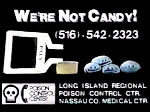 Singing Pills   This Is Serious (Poison Control PSA Commercial, 1980's)