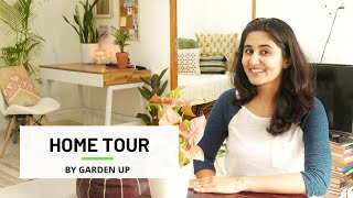 My Mumbai 750 sq ft Home | Garden Up