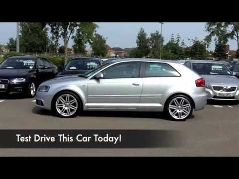 audi a3 diesel hatchback 2010 1 6 tdi s line 3dr yy10fej youtube. Black Bedroom Furniture Sets. Home Design Ideas