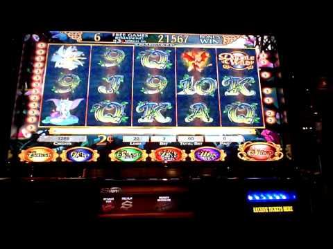 Fairy Play $400 Bonus Win on 2 cent Bally Slot Machine