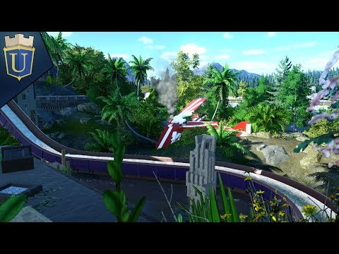 Bi-Plane Crash Site | Planet Coaster | Alpine Odyssey | Part 31