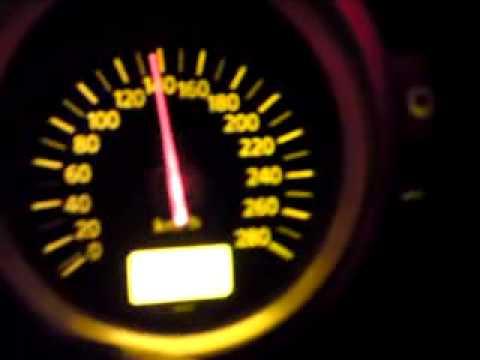 Nissan 350z 300km/h top speed - YouTube