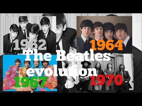 The Beatles evolution 19621970