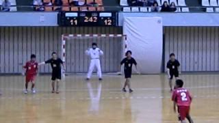 11 5 4 中四国大学対抗ハンドボール大会・愛媛大学対山口大学3