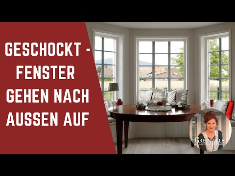 geschockt schwedische fenster gehen nach aussen auf schwedenhaus landhaus holzhaus youtube. Black Bedroom Furniture Sets. Home Design Ideas