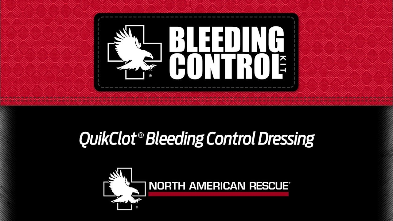 Quikclot Bleeding Control Dressing Instructions Youtube