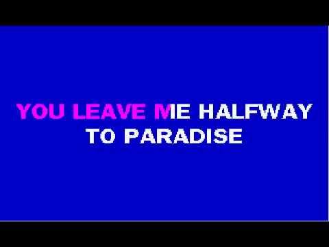 YouTube   Halfway To Paradise   Billy Fury   Karaoke wmv