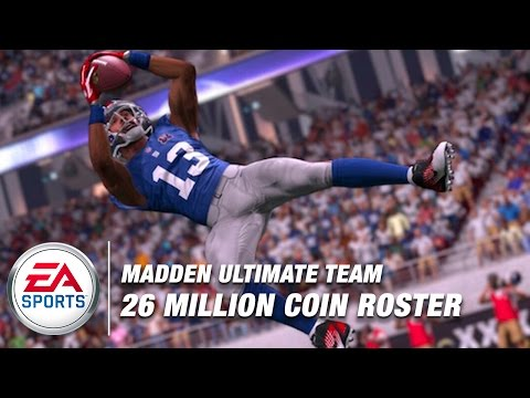 MJD's 26 Million Coin Madden Ultimate Team | Madden NFL Live