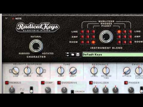 Radical Keys  Rack Extension