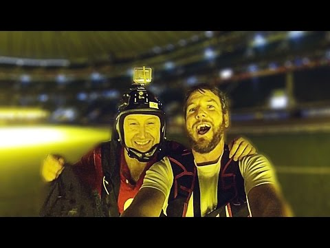 Jump Twickenham Stadium | BASEJUMP | Jamie Flynn and Darren Strafford