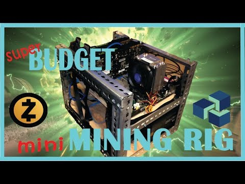 Recycled Low Budget Mining Rig out of Leftover computer Parts!!